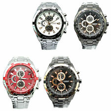 Luxury Men Curren 8023 Sport Stainless Steel Water Resistant Wrist Watch Watches