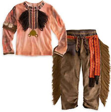 Native American Indian Boy's Tonto Western Halloween Costume Size (s) 2 3 4 5 6