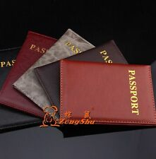 New Passport Holder Protector Cover Wallet PU Leather Cover A140