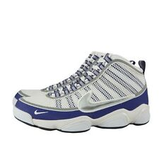 NIKE ZOOM DON 407577-100 WHITE METALLIC SILVER CONCORD XI RUNNING TRAINER