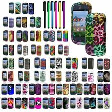 Hard Shell Cover Snap-On Case For Samsung Galaxy Centura S738C+Guard+Pen