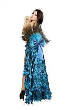 Deluxe Adult Peacock Costume Peacock Halloween Costume Bird Outfit Roma 4410