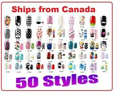 Melodi Authentic Nail Wrap Patch Stickers 14pcs Ultra-thin ships from Canada