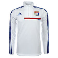 Olympique Lyon Formation Sweat Adidas G74830 Sweat Pull-Over S M L Xl Neuf