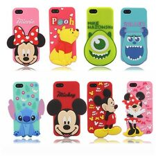 Hot Sale 3D cute Cartoon Silicon material Cover Case For iPhone 5 5S X103