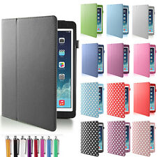 Magnetic PU Leather Smart Cover Case for Apple iPad Air iPad 5 with Sleep Wake