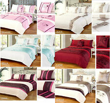 New 5pc Bed in a Bag Bedding Duvet Quilt Cover Set + Bed Runner + Cushion Cover