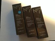 BN BOOTS NO7 STAY PERFECT FOUNDATION SPF 15 (various shades) 30ml