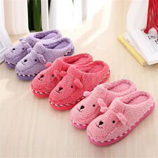 Unisex Cute Sheep Winter Warm Soft Antiskid Indoor Home Slippers Novelty Gift 25