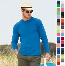Fruit of the Loom Adult Heavy Cotton Long Sleeve T-Shirt 4930 S-3XL-37 COLORS