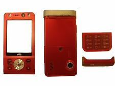 New Replacement Housing Fascia Case Cover Keypad for Sony Ericsson W910 W910i