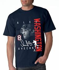 Alex Ovechkin Washington Capitals Signature shirt Navy NHLPA Approved