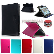 """Folio PU Leather Stand Case Cover For Insignia Flex 10.1"""" inch Android Tablet PC"""
