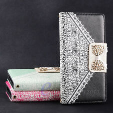 E--zone - Deluxe For Sony Xperia Z2 Purse Wallet Handbag Leather Flip Case Cover