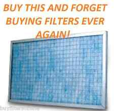 AIR FILTER SYSTEM BEST VALUE PERMANENT WASHABLE ELECTROSTATIC MATERIAL SAVE BIG!