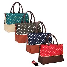 New fashion Women's Baby Diaper Nappy Changing Mummy Bag Tote fit Stroller Large