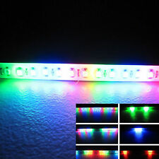 RGB 2FT 24IN 60CM 48 Led Light Strip Knight Rider Flash Strobe Scanner Neon Car