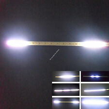 White 2FT 24IN 60CM 48 Led Knight Rider Flash Strobe Scanner Neon Strip Light