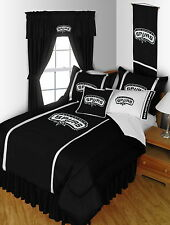 San Antonio Spurs Bed in a Bag Curtains Valance Twin Full Queen King Comforter