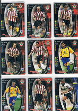 WIZARDS PREMIER LEAGUE 2001-02 PREMIER LEAGUE TRADING CARD EX COND NOS 105-212
