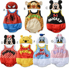 Baby Boys Girls Toddler Animal Costume Bodysuit Outfit Romper Clothes Set 3Sizes