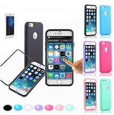 For Apple iPhone 6 TPU Wrap Up Phone Case Cover with Built In Screen Protector