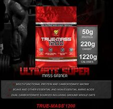 BSN TRUE-MASS 1200 Mass Gainer Protein Pick Flavor 10.25 lbs Serious Weight Gain