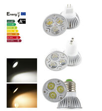 LED 9W GU10 MR16 GU5.3 E27 LED Spot Bulb Light Home Ceiling Warm Cool White Lamp