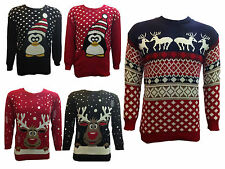 XMAS CHRISTMAS UNISEX JUMPERS  NOVELTY GIFTS SWEATER S M L XL