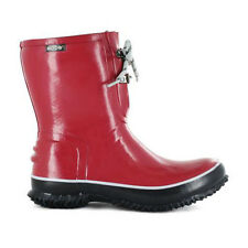 Bogs Ladies Urban Farmer 2 Eye Lace Boots - red