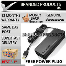 Genuine Original IBM LENOVO 65W Power Supply Laptop AC Adapter Charger cable FOR