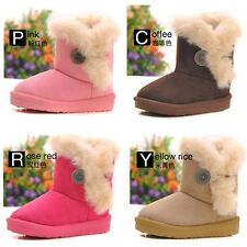 Winter Warm Kid's Girl's Snow Ankle Boots Cotton Children Shoes