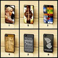 Game Of Thrones Stark Lannister Map Case Cover for iPhone & Samsung Phones