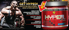 BSN HYPER FX Pre-Workout Energy 30 Servings All Flavors Free Shipping Crazy Sale