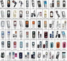 100x Wholesale Job Lot Mixed DUMMY/TOY Mobile Cell Display Phones - Market Stock