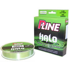 P-LINE HALO FLUOROCARBON MIST GREEN FISHING LINE 200 YARDS select lb test