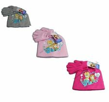 Brand New Disney Frozen Anna & Elsa Hat And Gloves Set For Kids 3 to 10 Years