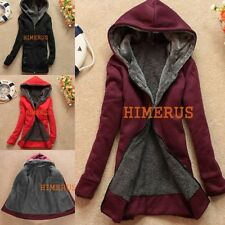 HOT Women's Winter Jacket Coat Hooded Pullover Warm Fleece Jacket Coats Jackets