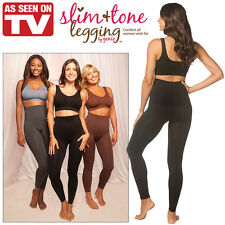 NEW NWT (Set of 3) Slim And Tone Leggings: Smooth and Tone Your Look