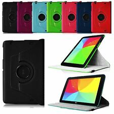 360 Rotating Leather Stand Smart Wake Case Cover for LG G Pad 10.1 Inch Tablet