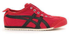 Asics Onitsuka Tiger Mexico 66 Slip On Casual Shoes Mens - Red/Black - D3K0N-239