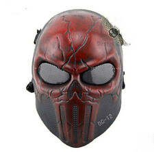 GR073 Tactical Military Skull Skeleton Full Face Mask Hunting Costume Halloween