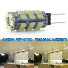 G4 LED CAPSULE BULB 30 X 3528 SMD CHIPS 12V WARM DAY WHITE CAMPERVAN CARAVAN 2W