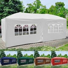 2PC Side Walls Cloth  W/ Window For EZ POP UP Folding Wedding Party Tent New