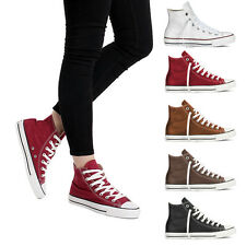 Scarpe donna TWIG sneakers alte in ecopelle Hi Top Leatherette