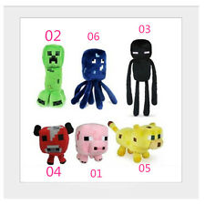 Minecraft Enderman Animals Plush Soft Toy Doll Jazwares Game 6 PCS BH