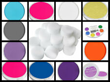 Face and body paint SPONGES BRUSHES water based neon face paint LOTS  COLOURS