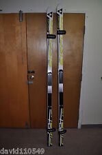 FISCHER RC4 WC DH RACE SKIS with RACE PLATE RC4 Z17 Binding A003121+T30010