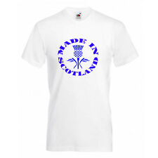 Made in Scotland,Scottish thistle Kids T Shirts Boys,Girls tee Size 5-13 years