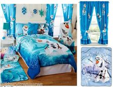 *NEW KIDS BOYS DISNEY FROZEN OLAF BEDDING BED IN A BAG / COMFORTER SET